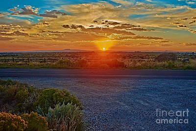 Photograph - Sunset Xxx by Charles Muhle