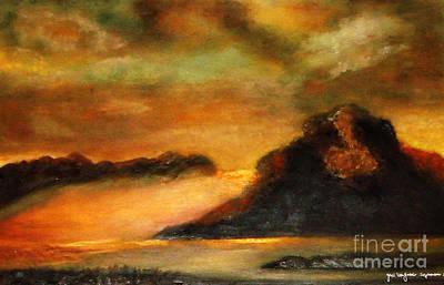 Painting - Sunset  by Yael VanGruber