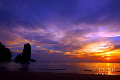 Sunsets And Beaches Art Print by Kaleidoscopik Photography