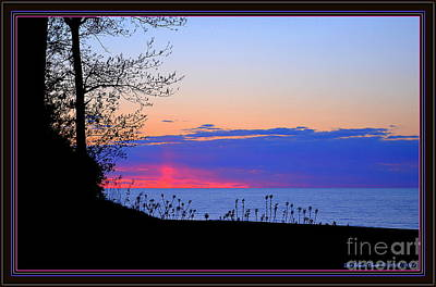 Photograph - Sunsets And Silhouettes  by Deb Badt-Covell