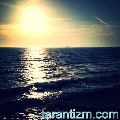 Cheap Photograph - Sunsetting Behind The Water by Tarant Photography