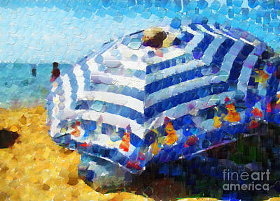 Sunshade Painting - Sunshade Painting by Magomed Magomedagaev