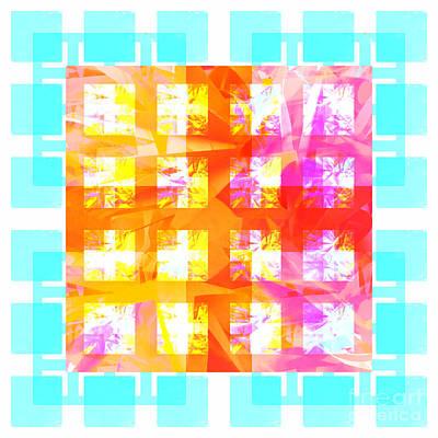 Mixed Media - Sunshine Abstract 2 by Barbara Moignard