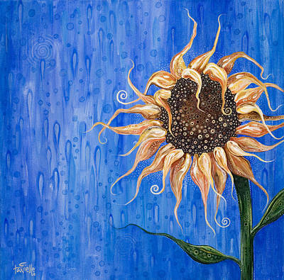 Painting - Sunshine After The Rain by Tanielle Childers