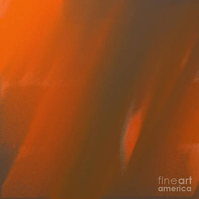 Digital Art - Sunshine And Rain Abstract Square by Andee Design