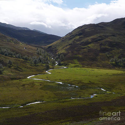 Photograph - Sunshine And Showers - Monadhliath Mountains by Phil Banks