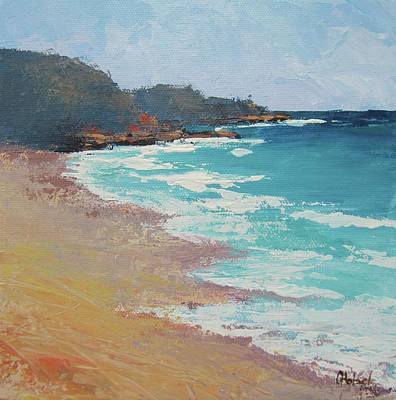 Painting - Sunshine Beach And Lions Head Noosa Heads Queensland by Chris Hobel
