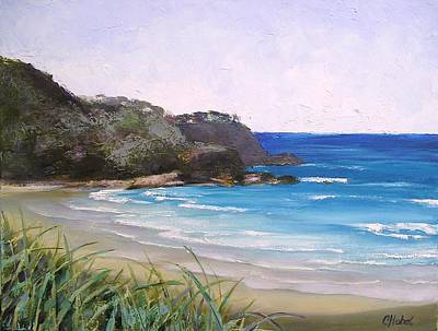 Sunshine Beach Qld Australia Art Print by Chris Hobel