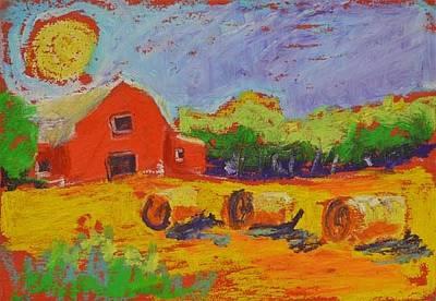 Pastel - Sunshine Farm by Pat Olson