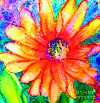 Painting - Sunshine Flower by Hazel Holland