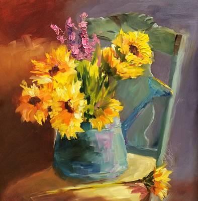 Sunshine In My Heart Art Print