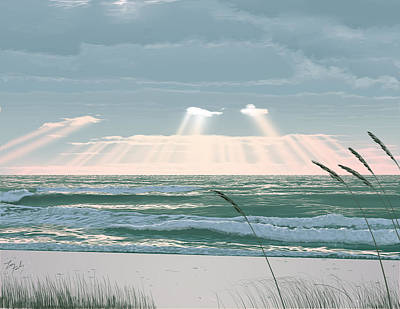 Sunshine In The Morning Art Print