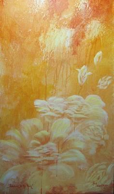 Sunshine In The Rain Art Print by Lori Salisbury