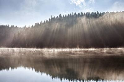 Rhodope Mountains Photograph - Sunshine Lake by Evgeni Dinev