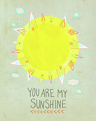 Sunshine Art Print by Lisa Barbero