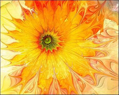 Framed Art Digital Art - Sunshine Mine by Amanda Moore