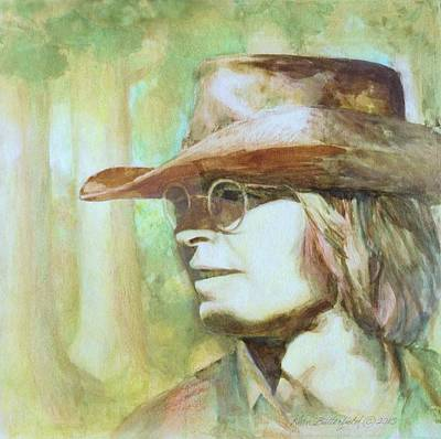 John Denver Painting - Sunshine On His Shoulders by Kean Butterfield