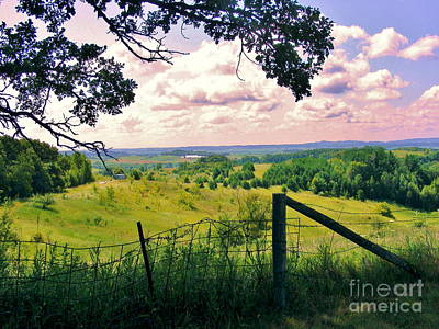 Farm Scene Photograph - Sunshine On The Meadow by Marilyn Smith
