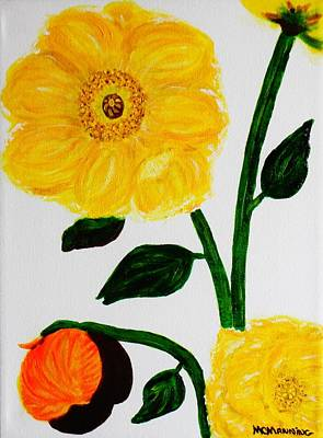 Painting - Sunshine On The Vine by Celeste Manning