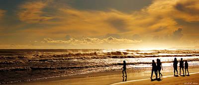 Denia Photograph - Sunshine Over Les Deveses by Christian Seiffert
