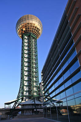 Photograph - Sunsphere And Conference Center by Melinda Fawver