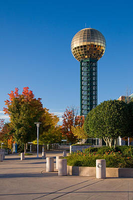 Photograph - Sunsphere And World's Fair Park by Melinda Fawver