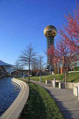 Photograph - Sunsphere In Spring by Melinda Fawver