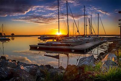 Sunstar And Sail Original by Shawn Hudson