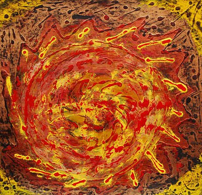 Painting - Sunstar by Cleaster Cotton