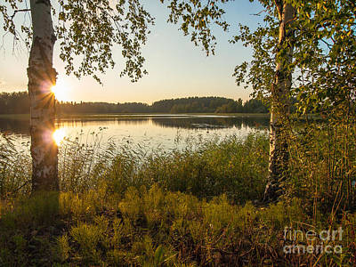 Photograph - Sunstar Times Two by Ismo Raisanen