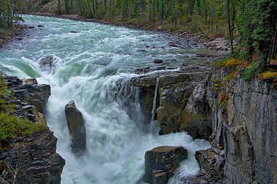 Photograph - Sunwapta Falls #2 by Stuart Litoff