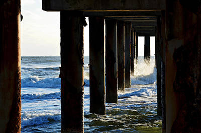Photograph - Sunwash At St. Johns Pier by Anthony Baatz