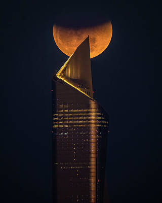 Moon Wall Art - Photograph - Super Blue Blood Moon by Faisal Alnomas