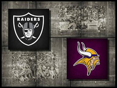 Vikings Photograph - Super Bowl 11 by Joe Hamilton