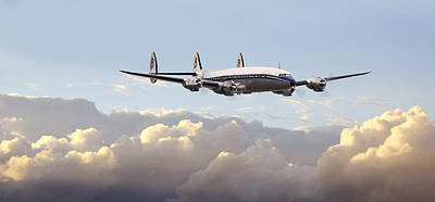 Airliners Photograph - Super Constellation - End Of An Era by Pat Speirs