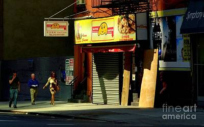 Photograph - Super-dumpling - New York City Street Scene by Miriam Danar