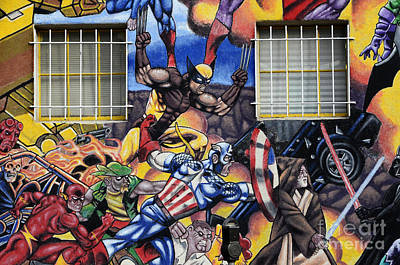 Super Hero Photograph - Super Heroes Albuquerque New Mexico by Bob Christopher
