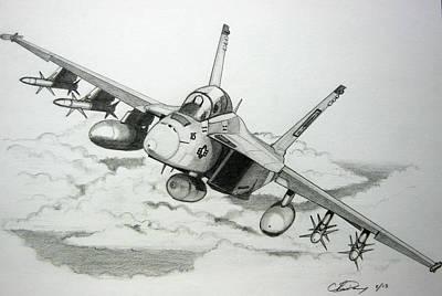 Super Hornet Inbound Original