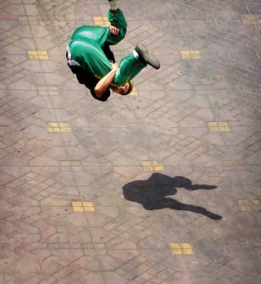 Super Jumper.. Art Print by A Rey