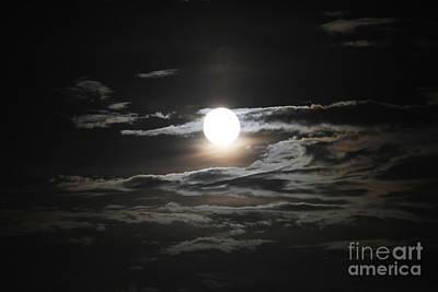 Super Moon 2013 Art Print