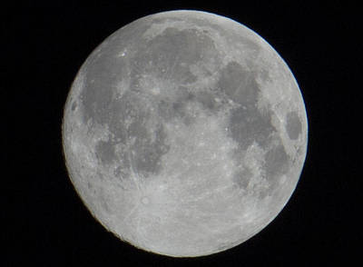 Travel Rights Managed Images - Super Moon Royalty-Free Image by Amy Fregoso