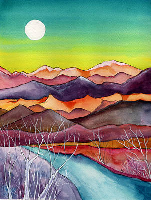 Painting - Super Moon by Brenda Owen