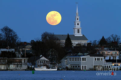Photograph - Super Moon by Butch Lombardi