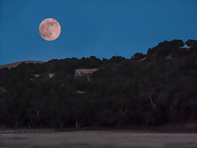 Photograph - Super Moon by Derek Dean