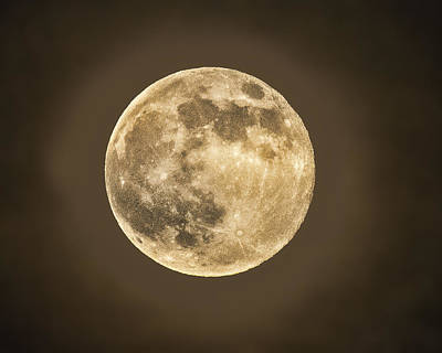 Photograph - Super Moon by Don Durfee