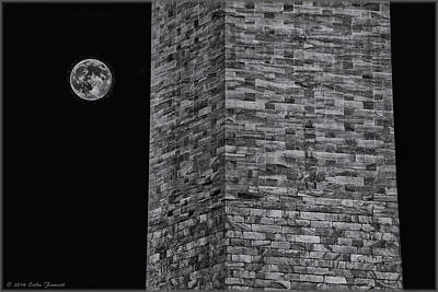 Photograph - Super Moon by Erika Fawcett