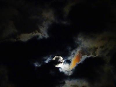 Photograph - Super Moon by Jacqueline  DiAnne Wasson