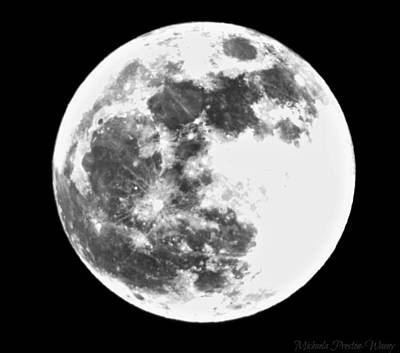 Photograph - Super Moon by Michaela Preston