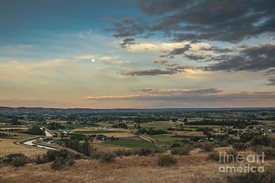 Photograph - Super Moon Over Emmett Valley by Robert Bales