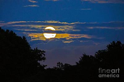 Photograph - Super Moon Rising by Byron Varvarigos